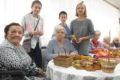 Wizyta wolontariuszy – jesienne bukiety